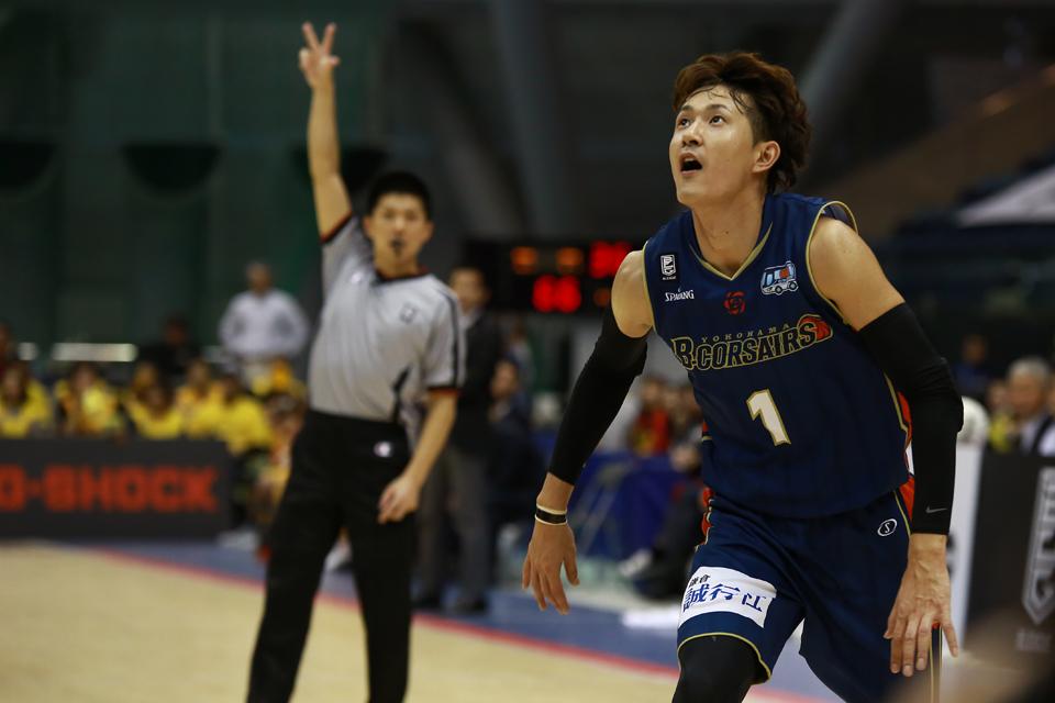Bリーグ横浜ビー・コルセアーズ仙台89ERS横浜国際プール