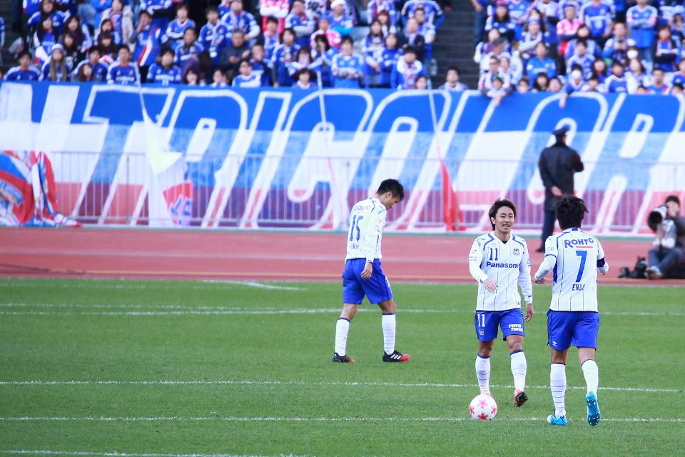 ガンバ大阪横浜F.マリノス日産スタジアム天皇杯2016