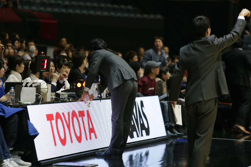 川崎ブレイブサンダースアルバルク東京代々木第一体育館ALLJAPAN2017