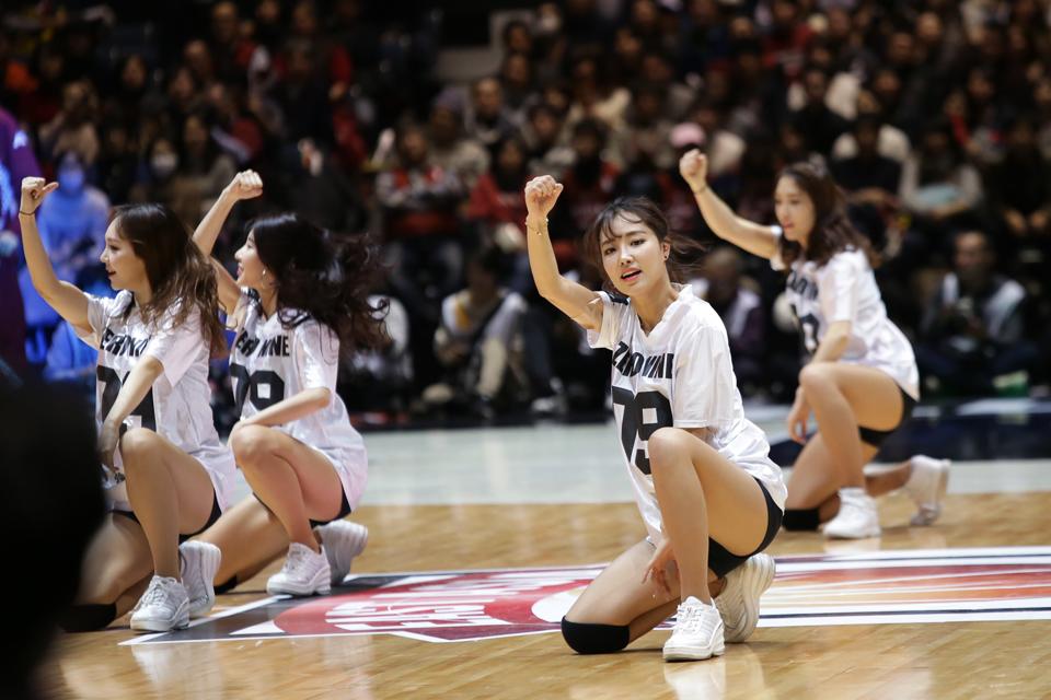 川崎ブレイブサンダース安養KGC代々木第一体育館日韓クラブ頂上決戦2017