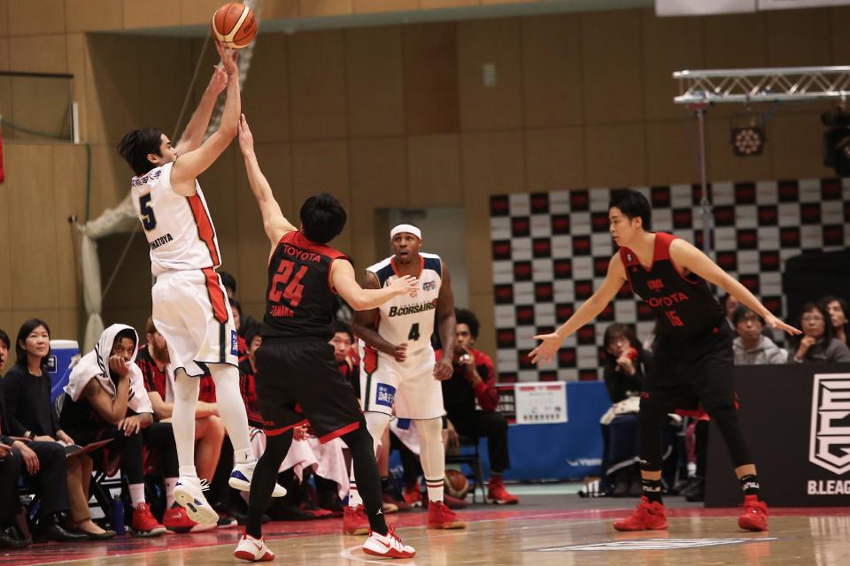 アルバルク東京横浜ビー・コルセアーズ墨田区総合体育館