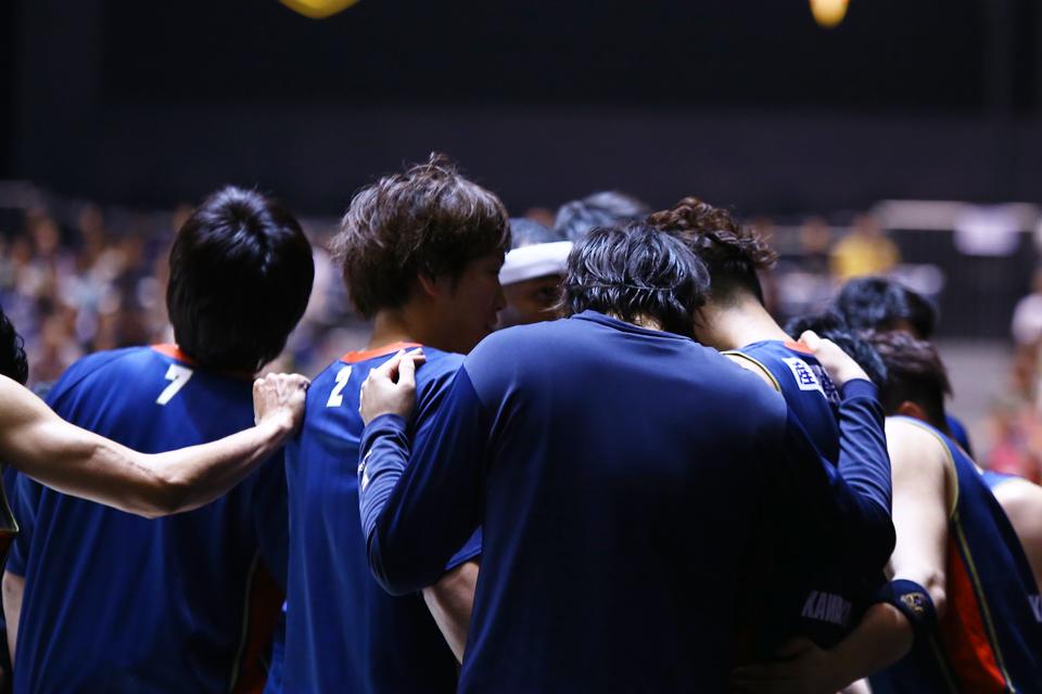 横浜ビー・コルセアーズ広島ドラゴンフライズ代々木第一体育館
