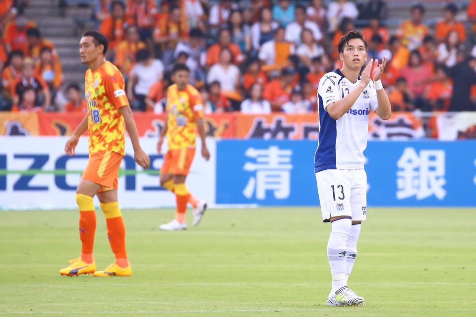 清水エスパルスガンバ大阪IAIスタジアム