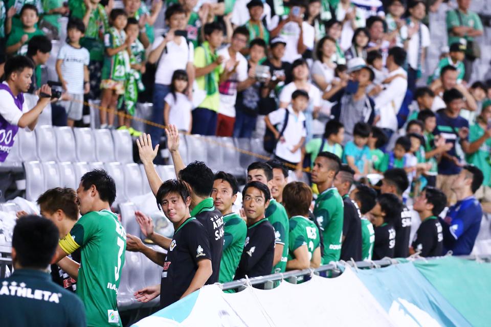 東京ヴェルディロアッソ熊本味の素スタジアム