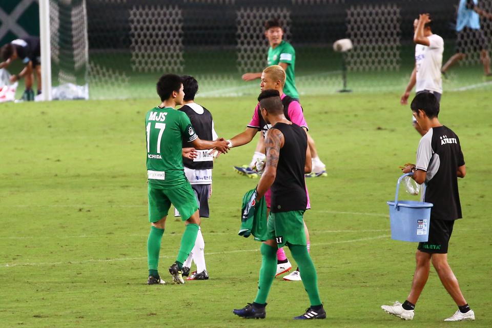 東京ヴェルディ松本山雅味の素スタジアム