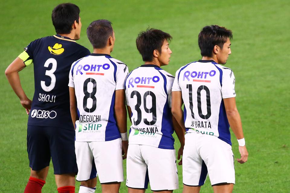 鹿島アラトラーズガンバ大阪県立カシマサッカースタジアム
