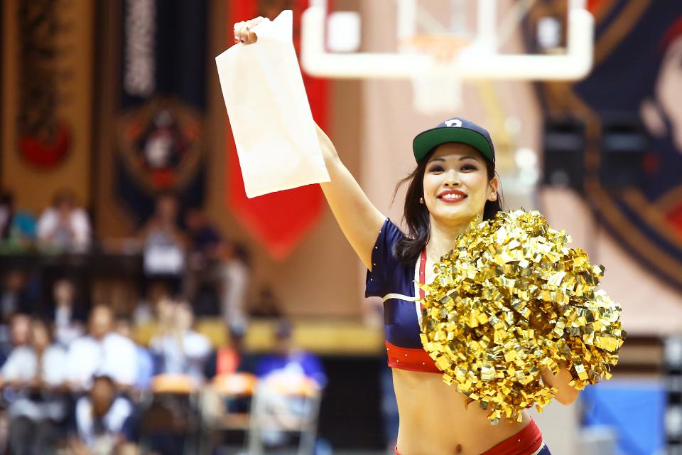 横浜ビー・コルセアーズ滋賀レイクスターズ横浜文化体育館