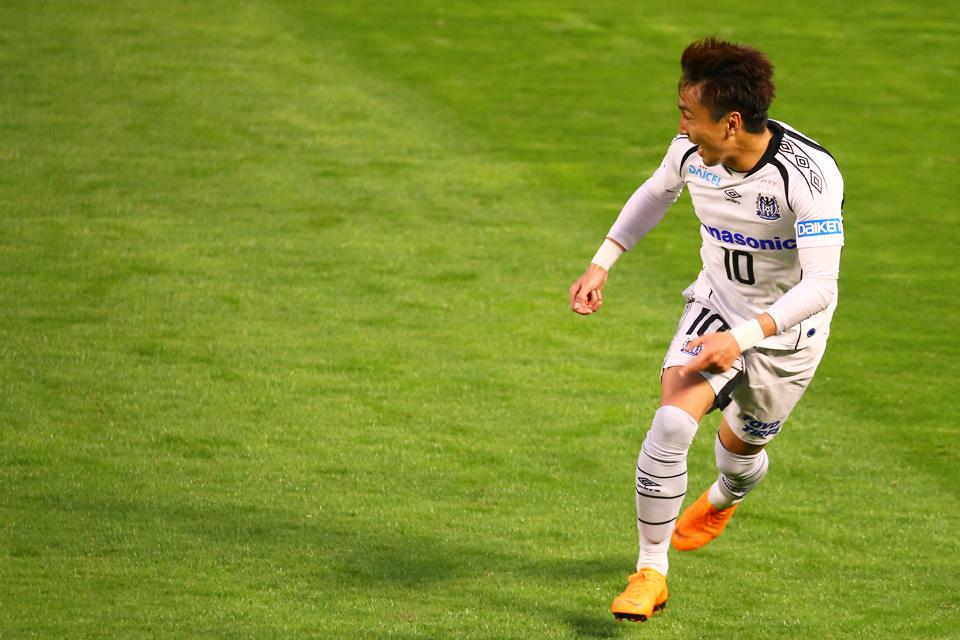 鹿島アントラーズガンバ大阪カシマサッカースタジアム