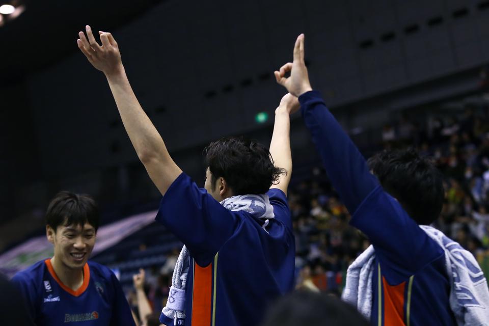 横浜ビー・コルセアーズ新潟アルビレックスBB横浜国際プール