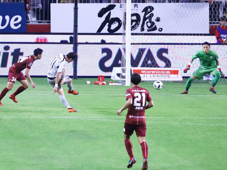 ヴィッセル神戸×ガンバ大阪ノエビアスタジアム神戸