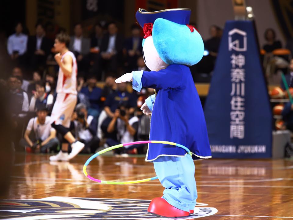 横浜ビー・コルセアーズ富山グラウジーズ横浜文化体育館