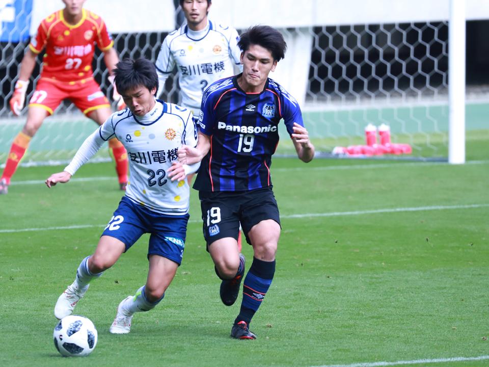 ガンバ大阪U-23ギラヴァンツ北九州パナソニックスタジアム吹田