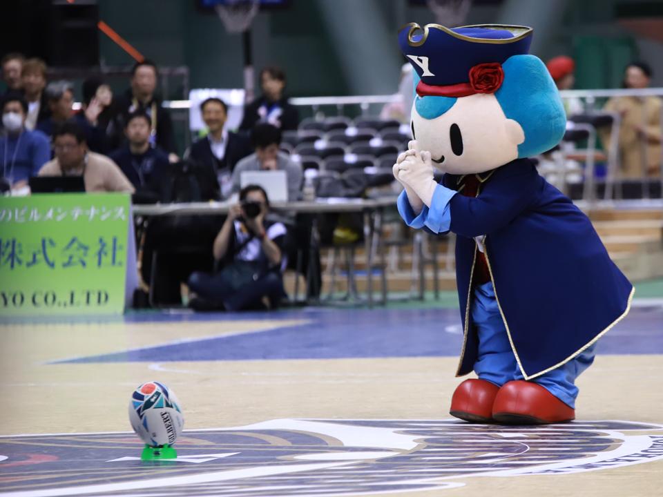 横浜ビー・コルセアーズ×名古屋ダイヤモンドドルフィンズ横浜国際プール