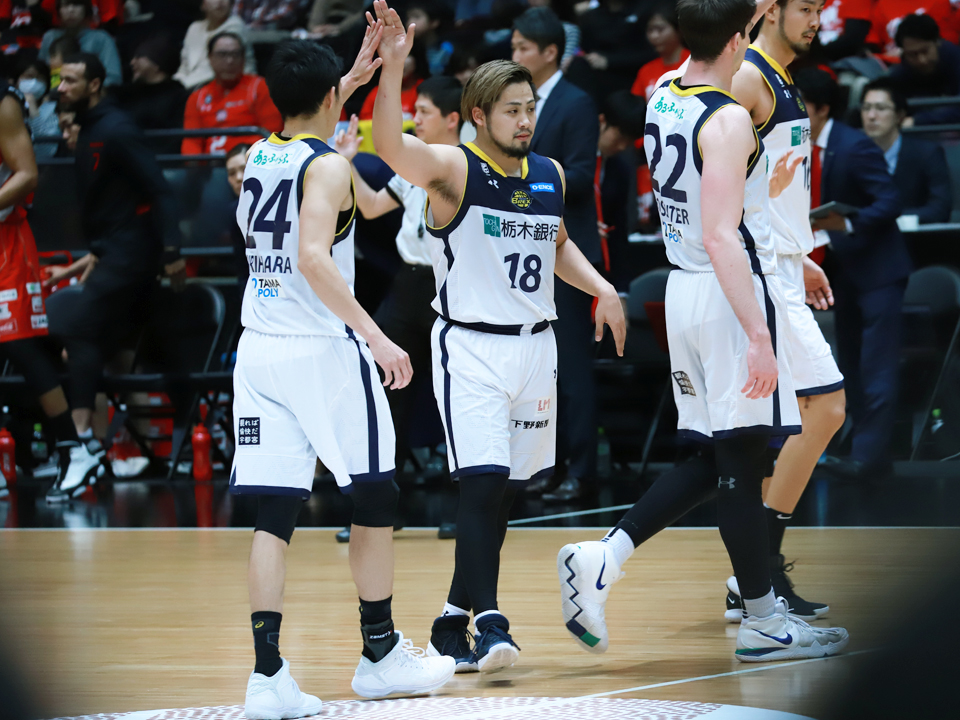 第94回天皇杯アルバルク東京栃木ブレックス