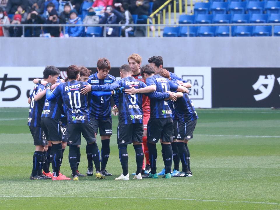 ガンバ大阪横浜F.マリノスパナソニックスタジアム吹田