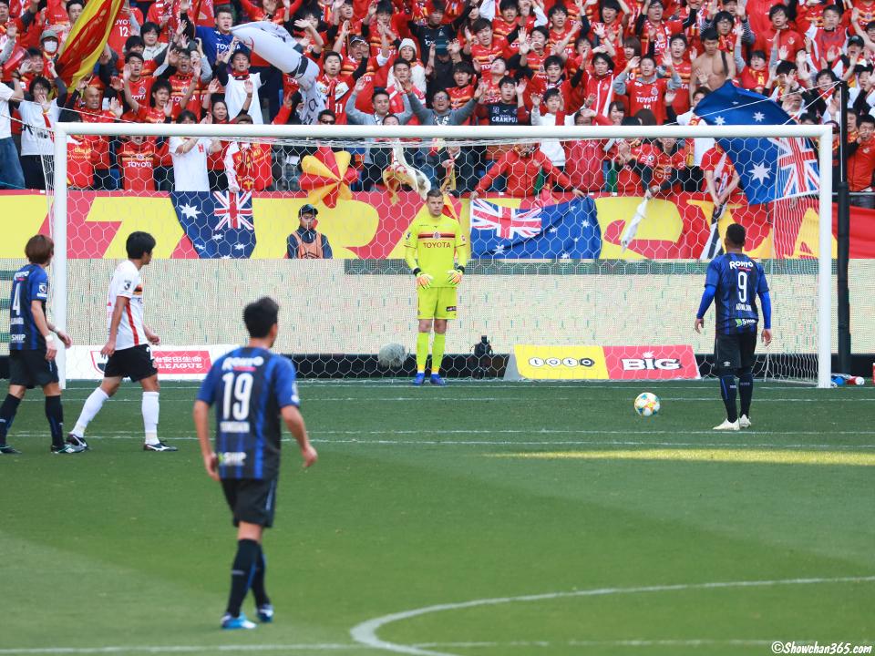ガンバ大阪名古屋グランパスパナソニックスタジアム吹田