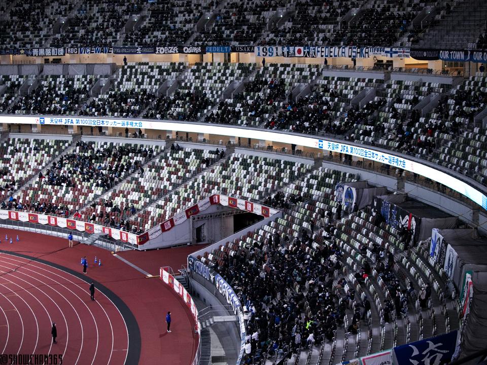 20210101 第100回天皇杯 決勝 川崎フロンターレ×ガンバ大阪@国立競技場
