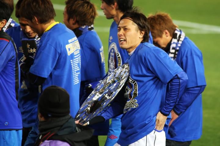 20141206【J1_第34節】徳島vsG大阪  青と黒よ輝け!Campione!! Gamba Osaka!