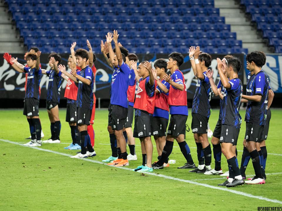 20210616 第101回天皇杯 2回戦 ガンバ大阪×関西学院大学
